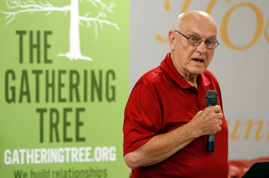 Gathering Tree co-founder Dr. David Brown spoke at a press conference Monday about the legal situation with the City of Springfield.