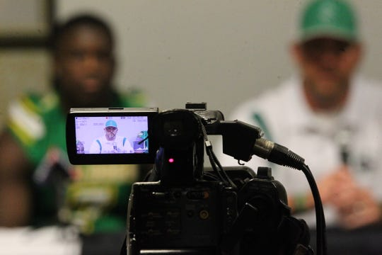 The Suwannee Bulldogs and other schools from across Tallahassee and the Big Bend gathered for high school football media day on July 22, 2019.