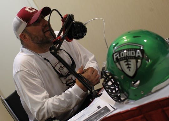 Chiles head coach Kevin Pettis and schools from across Tallahassee and the Big Bend gathered for high school football media day on July 22, 2019.
