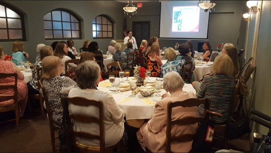 Alpha Kappa sisters of Delta Kappa Gamma remember educators who chartered chapter in 1959.