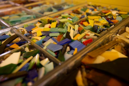 Pelican Central Mosaic Arts, owned by Diane Concepción and Asia Booth and located in downtown Fort Pierce, offers open studio hours, lessons and organized classes to help people at any skill level to create colorful mosaics. For more information, call 772-804-4715 or go to www.facebook.com/pelicancentral.
