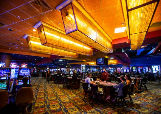 The Inn of the Mountain Gods has another gaming feature, a sports book inside the casino.