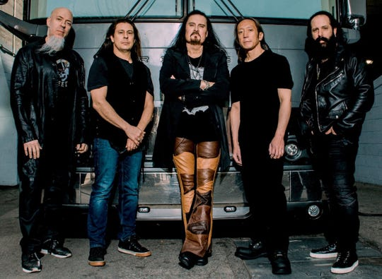 The metal band Dream Theater is bringing its tour to El Paso.