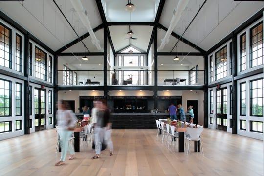 The tasting room at Kontokosta.