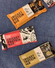 "Guests can sample 7 flavors of EXO protein bars at the Kemp Center for the Arts from 3 to 5 p.m. Saturday in relation to talk about ""How Eating Bugs Can Save The World!"""