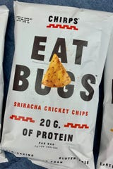 "Entomologist Dr. Aaron T. Dossey will talk about ""How Eating Bugs Can Save The World!"" from 3 to 5 p.m. at the Kemp Center for the Arts and samples of Chirps Cricket Chips will be available to sample."