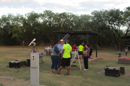 Astronomer Jeff Barton will lead a Lake Arrowhead Star Party from 7:30 to 11 p.m. Saturday at the State Park.