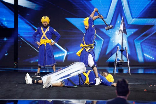 Bir Khalsa's death-defying stunts drew a visceral reaction from viewers, including 'America's Got Talent' judge Howie Mandel.
