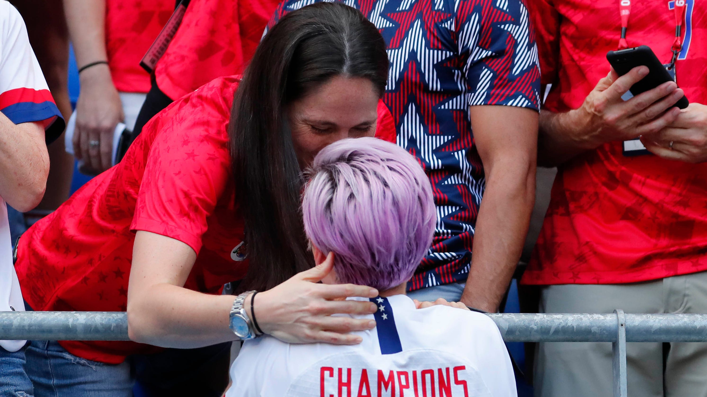 WNBA star Sue Bird, Megan Rapinoe's girlfriend, says calling President Trump out is necessary