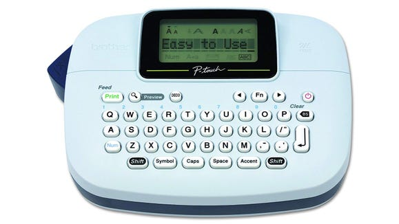 This label-maker is simple-to-use and can help you stay more organized.