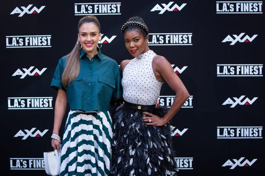 """""""I had no problem giving back money to make sure Jessica Alba gets paid what Jessica Alba is worth,"""" Gabrielle Union said of her """"L.A.'s Finest"""" co-star. """"But you have to have the studio, the network, everyone to sign off on that."""""""