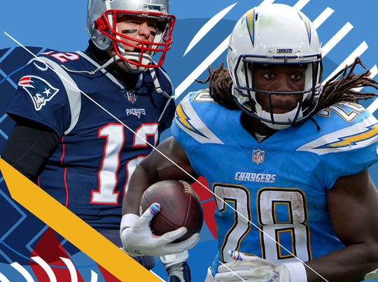 Will Pats QB Tom Brady and Chargers RB Melvin Gordon wind up dueling for AFC supremacy in 2019?