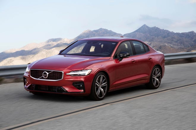 The Volvo S60, one of the models included in the recall for a faulty engine part.