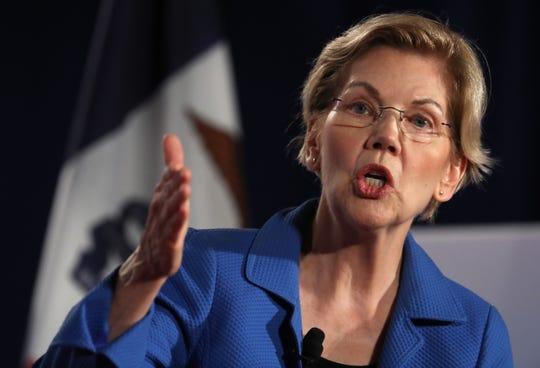 Elizabeth Warren predicts U.S. downturn, says economy's 'warning lights are flashing'