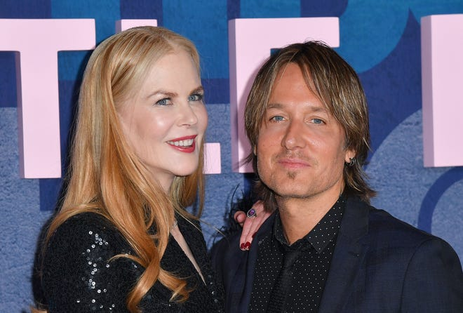"""Nicole Kidman and Keith Urban at the premiere of """"Big Little Lies"""" Season 2 on May 29, 2019 in New York City."""