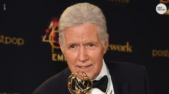 """""""Jeopardy!"""" host Alex Trebek started hosting game shows over 50 years ago."""