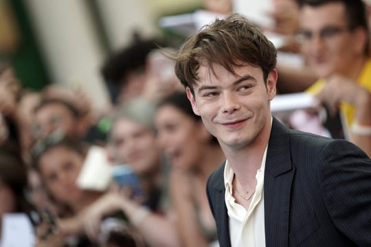 Charlie Heaton attends Giffoni Film Festival.