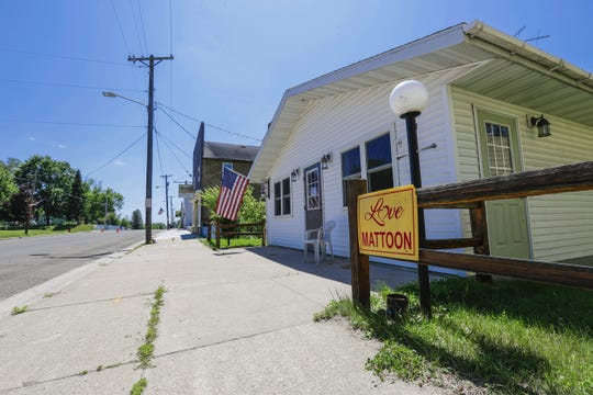 Mattoon, a town of about 420, is located about 70 miles northwest of Green Bay.