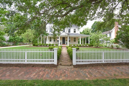 Fair Haven historic 1800s revived home at 50 Fair Haven Road embraces timeless charm