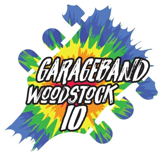 Garageband Woodstock 10 will begin at 6 p.m. July 27, 2019 at the Abilene Convention Center.
