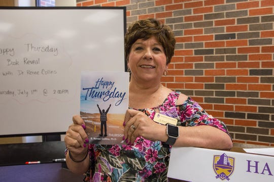 Renee Collins, of Hardin-Simmons University, recently published a book collecting her devotional emails sent over the past five years.