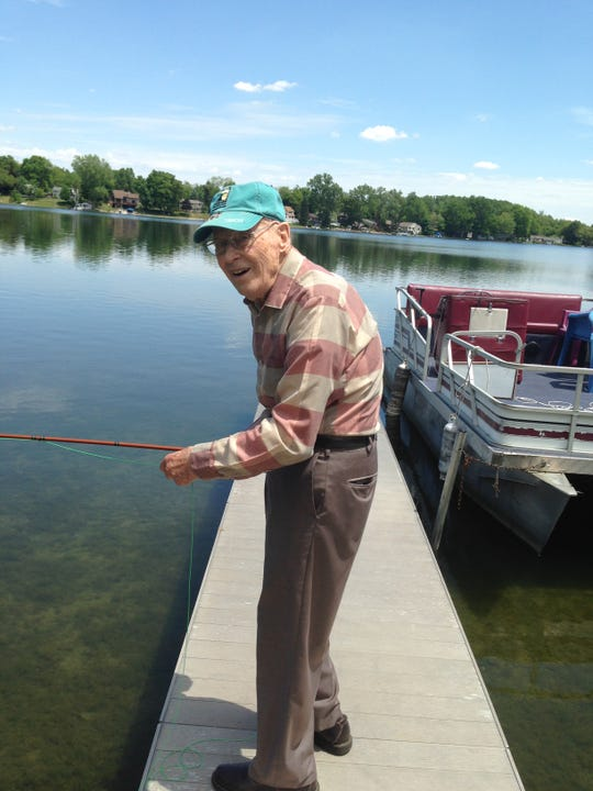 Fishing was a life-long hobby for Ivan Fleser, who died on July 27, 2018.
