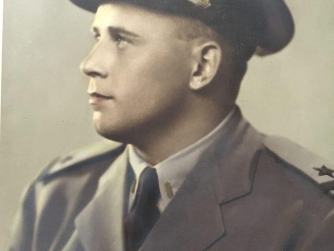 Ivan Fleser in his Navy uniform.
