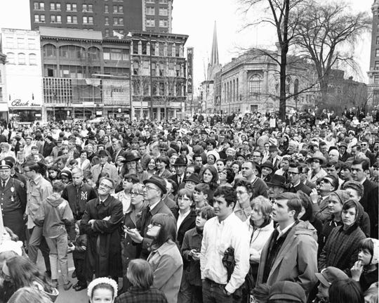 The City of Binghamton's centennial celebration in 1967.