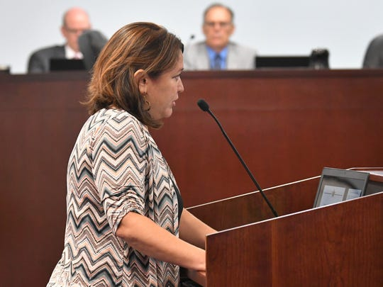 Melissa Martin, who worked with John Tobia on a a proposed civility policy. The July 23 meeting of the Brevard County Board of Commissioners in Viera, with two of the big issues being a proposed Civility Ordinance and Policy, which was not brought to a vote, and a Resolution for Finding of Critical Needs, Law Enforcement Municipal Service Taxing Unit, which was approved.