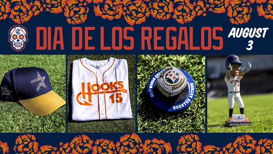"""All Hooks fans to receive """"Dia de los Regalos"""" giveaways at Whataburger field on Saturday, Aug. 1."""