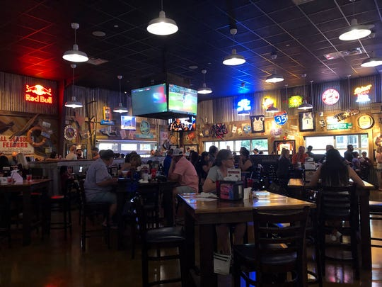 Brewster Street Ice House has opened a second location on Corpus Christi's Southside at 5550 Holly Road. Nearly 500 people attended a private partv at the restaurant before it opened.
