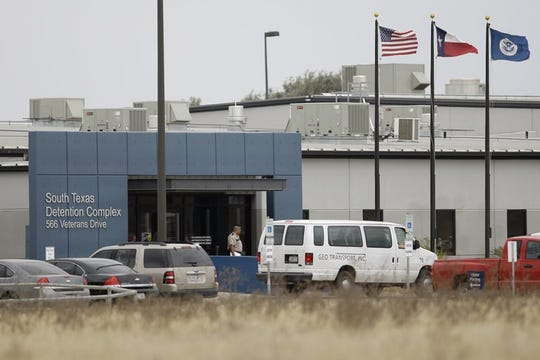 This Feb. 10, 2009 file photo shows the South Texas Detention Center in Pearsall, Texas.