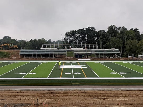 Bishop Brossart High School's Mustang Athletic Complex, Alexandria KY, July 23, 2019.