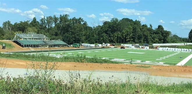 Bishop Brossart High School's Mustang Athletic Complex, Alexandria KY, July 23, 2019.