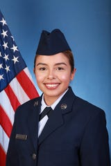 U.S. Air Force Airman Paola A. Ducuara-Lopez graduated from basic military training at Joint Base San Antonio-Lackland, San Antonio, Texas.