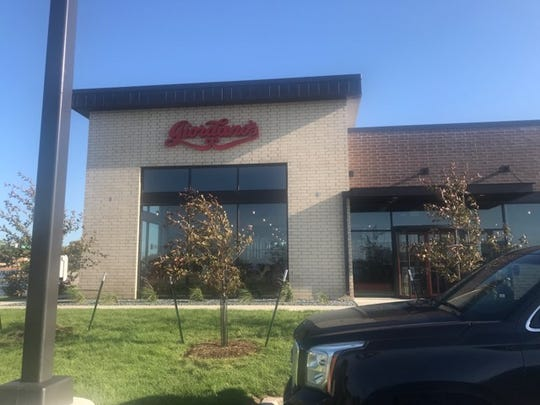 Giordano's in West Des Moines opened on Tuesday, July 23, 2019.