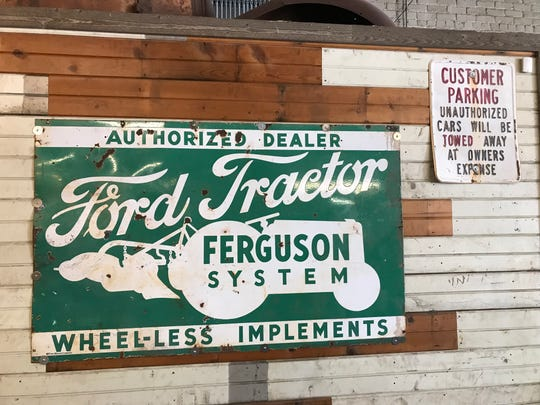 The decor at Uptown Garage Brewing Co. will be auto-themed, with classic signs, license plates and other automotive elements.