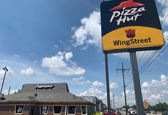 Standing Pizza Hut on Van Dyke Avenue. Captured July 17.