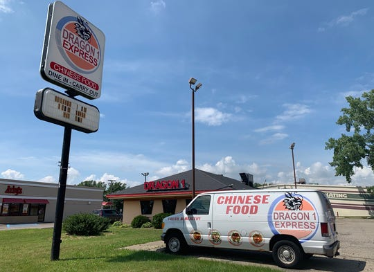 Like other Pizza Hut transformations, this location is now houses Chinese cuisines. Captured July  17 at Twelve Mile Road.