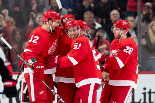 SportsBetting.ag released its over/under numbers for NHL point totals next season Tuesday, setting the Red Wings' points at 75.5.