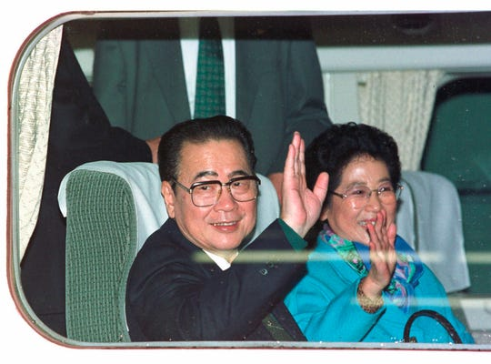 Li Peng, a former hard-line Chinese premier best known for announcing martial law during the 1989 Tiananmen Square pro-democracy protests, has died. He was 90.