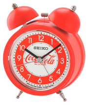 Seiko, Coca-Cola team up for clocks. This year, both companies are celebrating 130 years in business in a big way with iconic products that include Coca-Cola wall clock, alarm clock and the alarm clock – travel version.