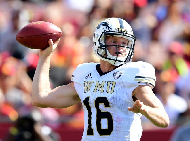 Injuries have sidelined Western Michigan quarterback Jon Wassink late in the season the last two years.