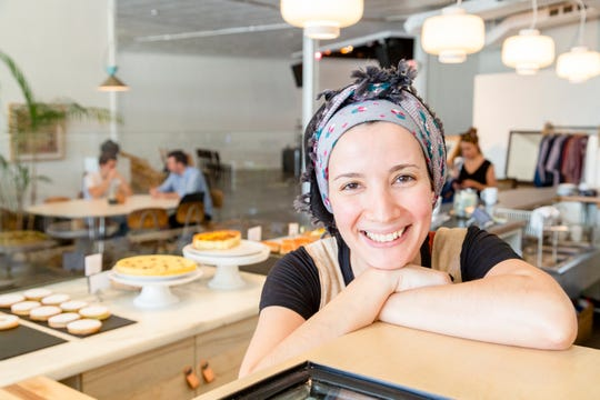 Warda Patisserie owner and baker Warda Bouguettay