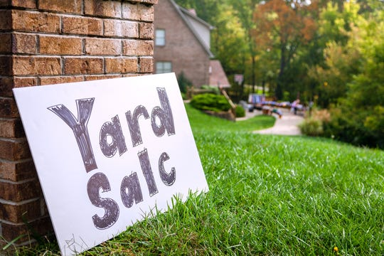 You don't have to have a yard to have a yard sale. (Dreamstime/TNS)