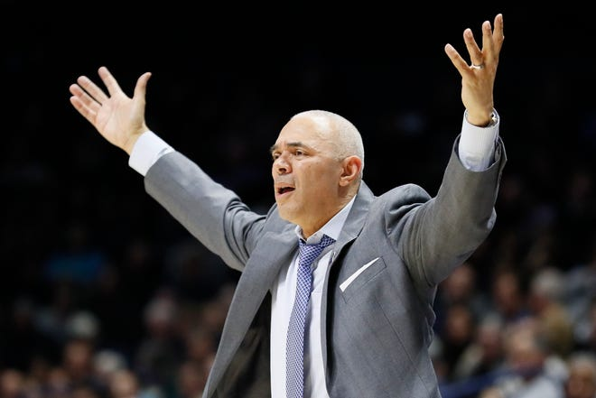 The NCAA suspended DePaul coach Dave Leitao for the first three games of the regular season, saying he should have done more to prevent recruiting violations by his staff.