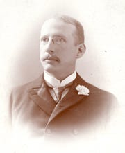 John B. Stanchfield was mayor of Elmira from 1886 to 1888.