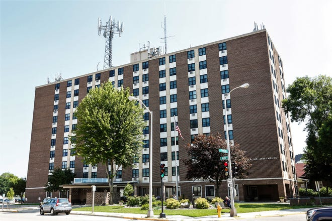 Rosalind Apartments at the intersection of Marr and Division streets in Fond du Lac, Wis. are among the housing units in Fond du Lac battling bedbugs. Tuesday, July 23, 2019.