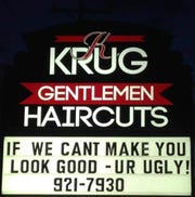 KKrug Gentlemen Haircuts specializes in men's hair and services. New additions at the downtown location include pedicures, facials and soon, tanning beds.