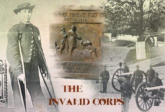 "A poster from the short film ""The Invalid Corps""."
